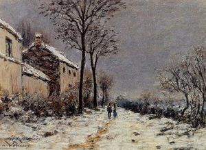 Alfred Sisley - Effetto Neve a Veneux