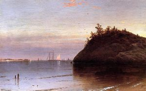 Alfred Thompson Bricher - Narragansett Bay