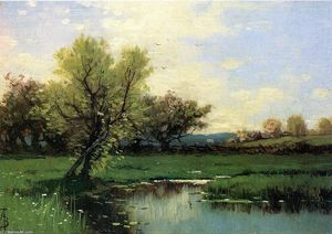 Alfred Thompson Bricher - primavera