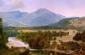 Asher Brown Durand - Genesee valle del paesaggio