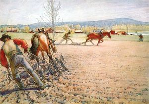 Carl Larsson - Straziante The Field