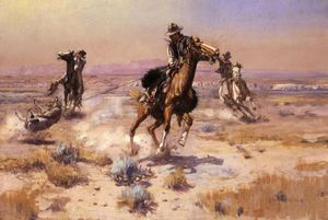 Charles Marion Russell - Ai confini del Rope