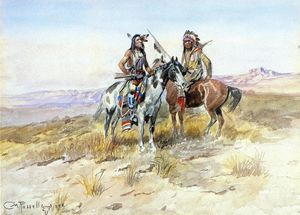 Charles Marion Russell - A caccia