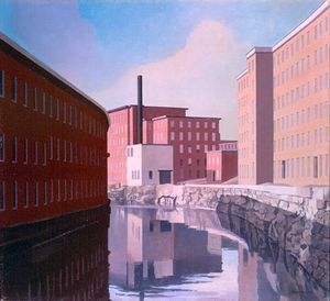 Charles Rettew Sheeler Junior - Amoskeag Canale