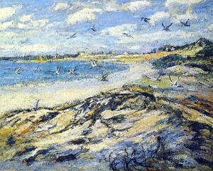 Ernest Lawson - Cape Code Beach