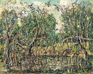 Ernest Lawson - Florida mangrovie