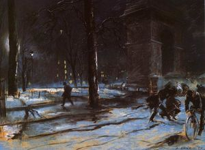 Everett Shinn - washington quadrato
