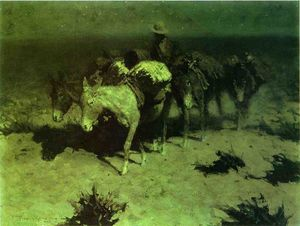 Frederic Remington - A Train pacchetto
