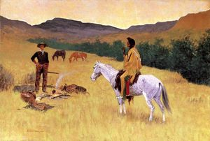 Frederic Remington - Il Parley