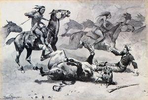 Frederic Remington - Disarcionato