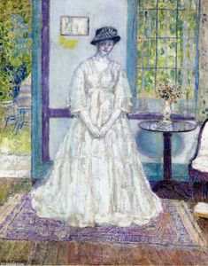 Frederick Carl Frieseke - estate mattino