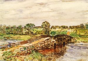 Frederick Childe Hassam - Ponte a old lyme 1