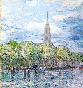 Frederick Childe Hassam - San Marco in Bowery
