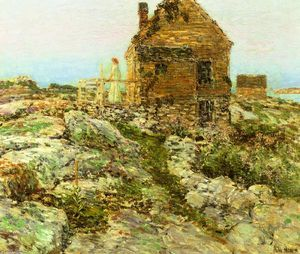 Frederick Childe Hassam - The Cottage norvegese