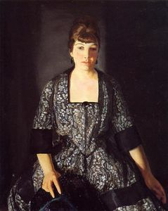 George Wesley Bellows - emma` nel nero stampa