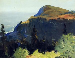 George Wesley Bellows - collina e valle