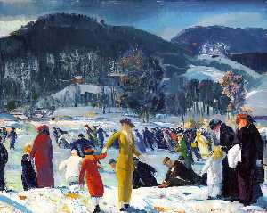 George Wesley Bellows - amore di inverno