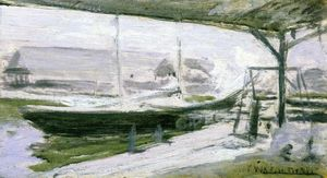John Henry Twachtman - Sotto le Wharves