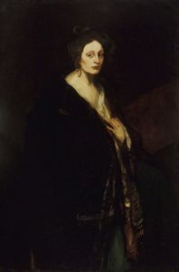 Robert Henri - Donna in Manteau