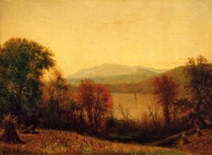 Thomas Worthington Whittredge - autunno sul hudson