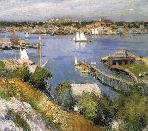 Willard Leroy Metcalf - Gloucester Porto