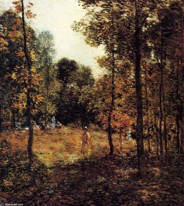 Willard Leroy Metcalf - The Picnic