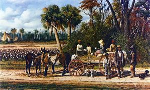 William Aiken Walker - Cotton Wagon di vuoto