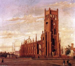William Aiken Walker - Cattedrale di st . Finebar's Chiesa , Largo Strada , Charleston