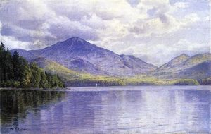 William Trost Richards - Lake Placid, Adirondack Mountains