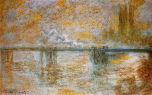 Claude Monet - Charing Traversa Ponte 1