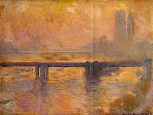 Claude Monet - Charing Traversa Ponte 2