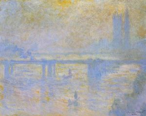 Claude Monet - Charing Traversa Ponte