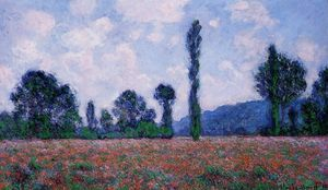 Claude Monet - Papavero ambulanza Giverny