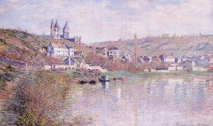 Claude Monet - Le colline di Vetheuil
