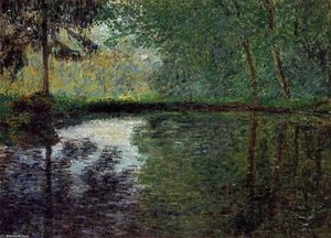 Claude Monet - The Pond a Montgeron