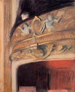 Edgar Degas - il box all-opera