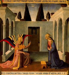 Fra Angelico - Annunciazione 3