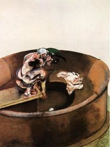 Francis Bacon - Ritratto di George Dyer Crouching