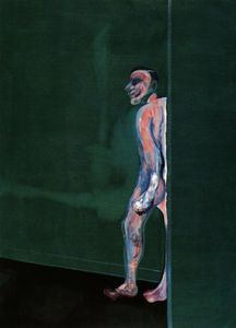 Francis Bacon - camminare figura