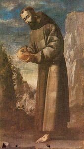 Francisco Zurbaran - San Francisco de Asis