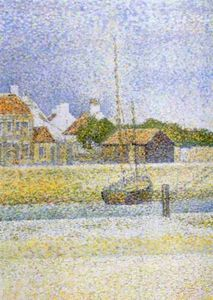 Georges Pierre Seurat - Canale di Gravelines Gran Fort Philippe