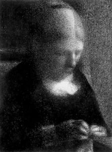 Georges Pierre Seurat - madre dell artista