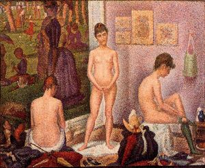 Georges Pierre Seurat - I modelli