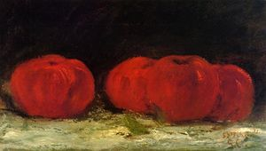Gustave Courbet - rosso mele