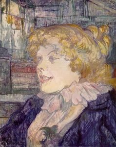 Henri De Toulouse Lautrec - l'inglese Girl from il 'Star' , le havre