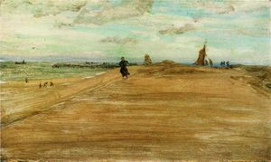 James Abbott Mcneill Whistler - scena spiaggia 1
