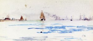 James Abbott Mcneill Whistler - Zuiderzee