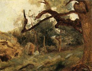 Volterra La Cittadella Di Jean Baptiste Camille Corot 1796 1875