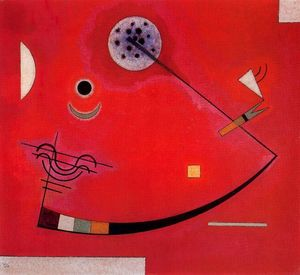 Wassily Kandinsky - tension` nel angolo