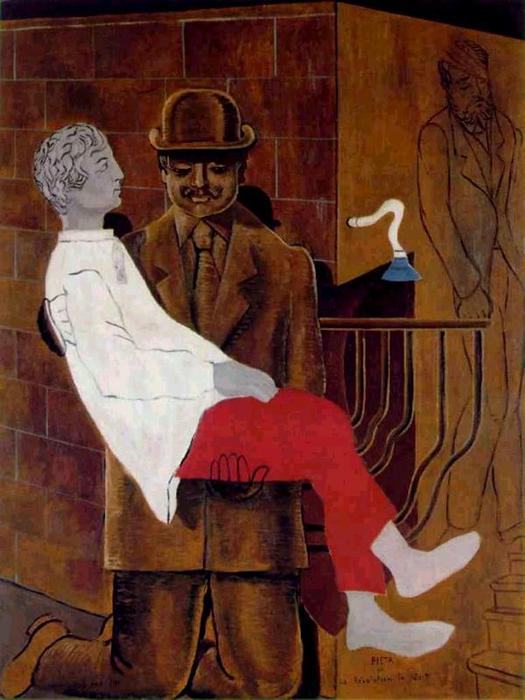 Pietà o Revolution by Night, scultura di Max Ernst (1891-1976, Germany)